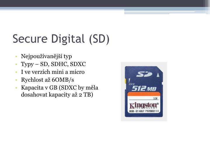 Secure Digital (SD)