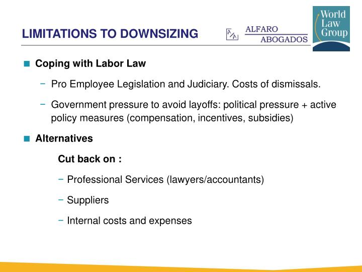 Coping with Labor Law
