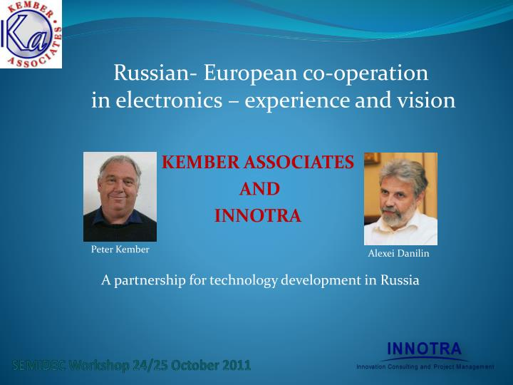 Russian- European co-operation