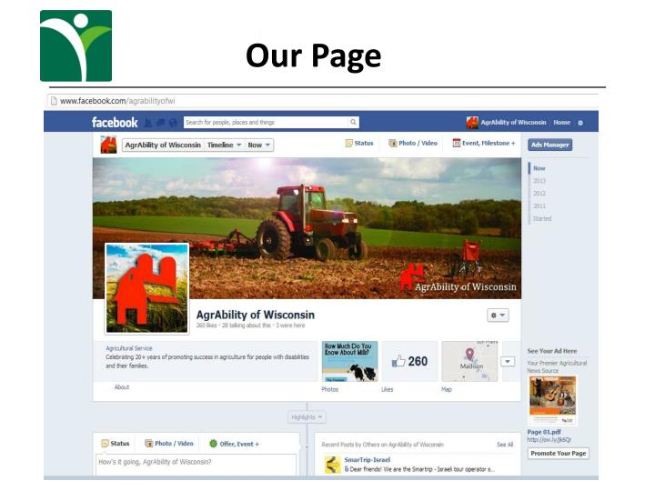 Our Page