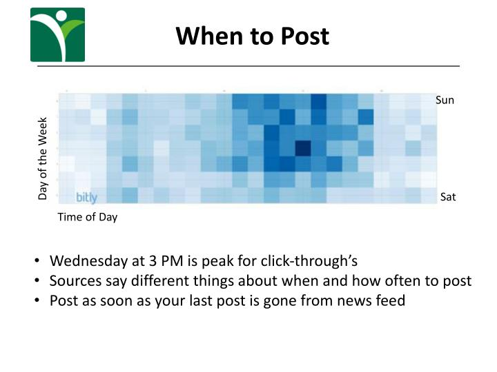 When to Post