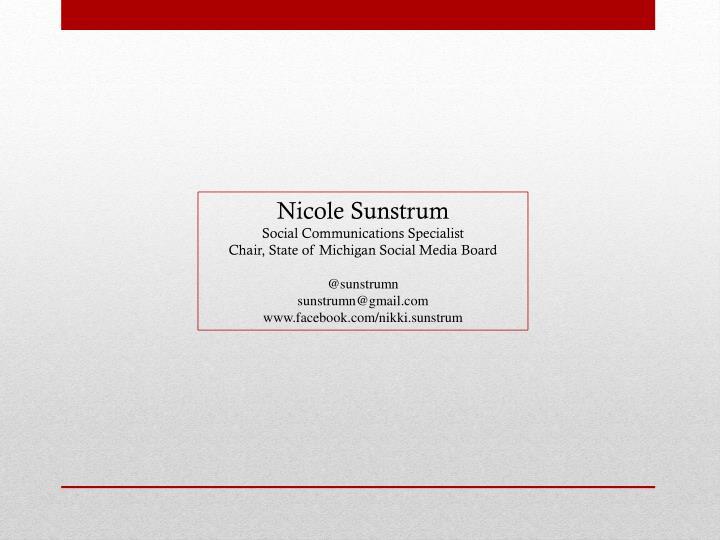 Nicole Sunstrum