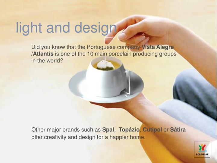 light and design