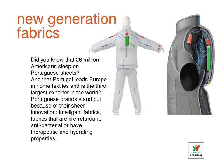 new generation fabrics
