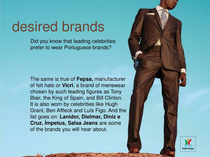 desired brands