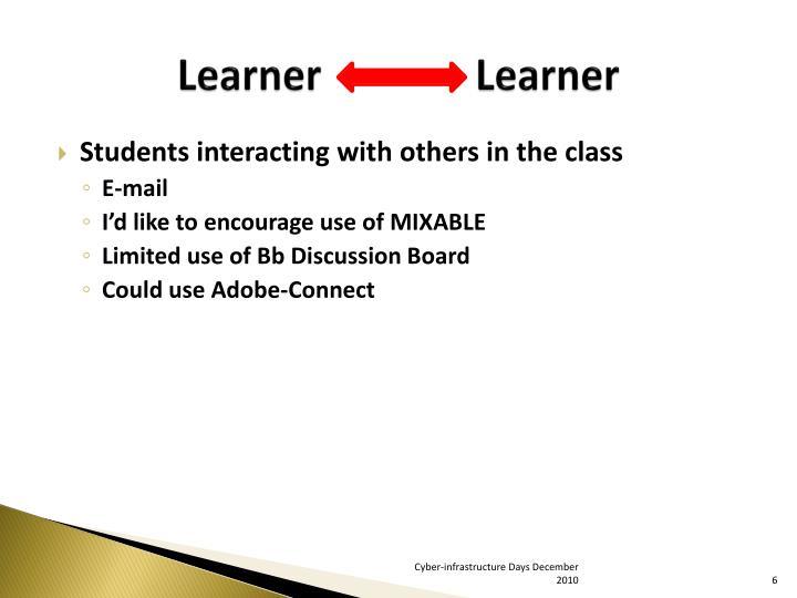 Learner               Learner