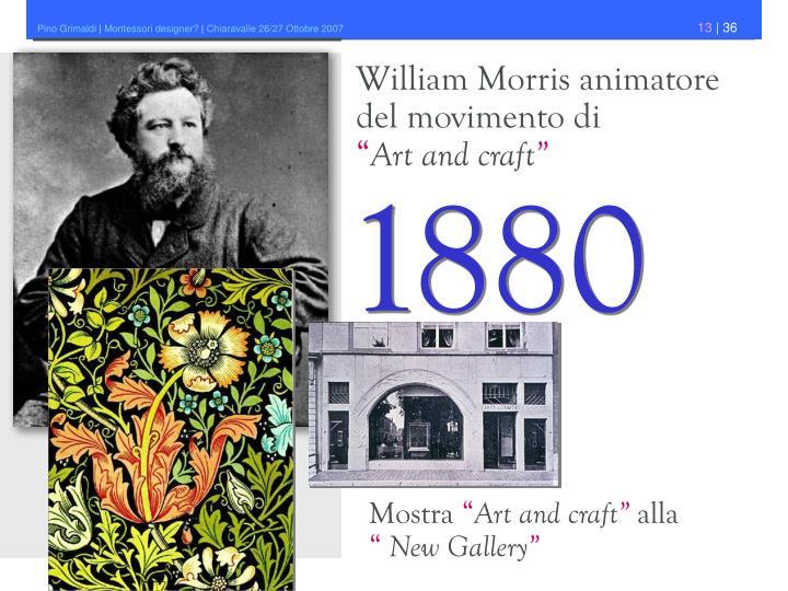 William Morris animatore