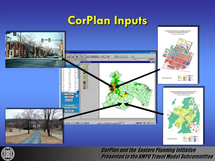 CorPlan Inputs