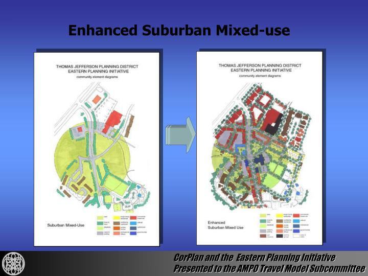 Enhanced Suburban Mixed-use