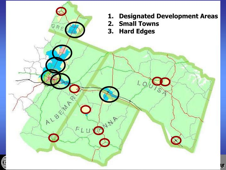 Designated Development Areas