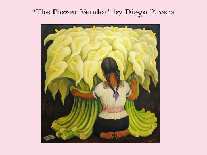 """The Flower Vendor"" by Diego Rivera"