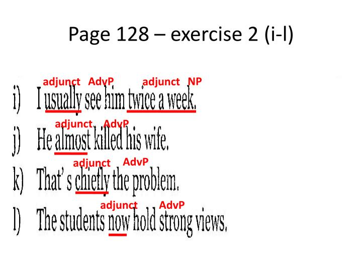 Page 128 – exercise 2 (