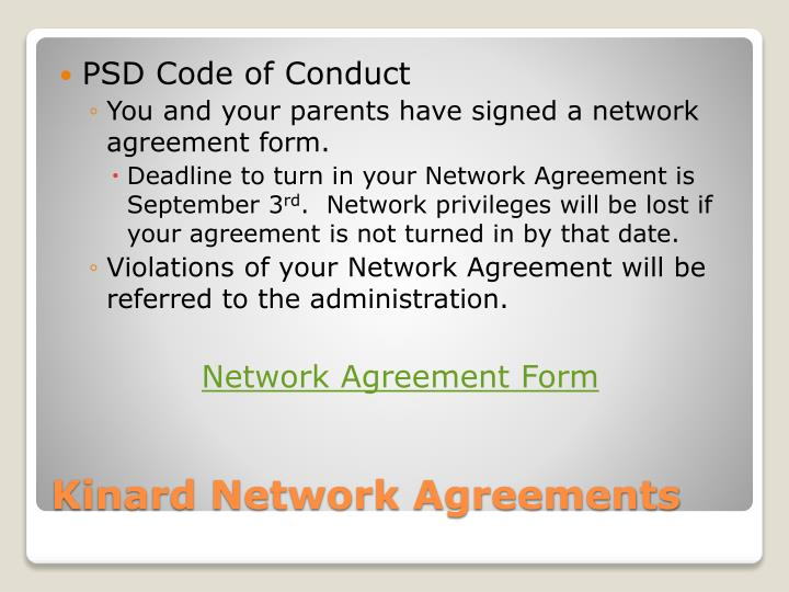 PSD Code of Conduct
