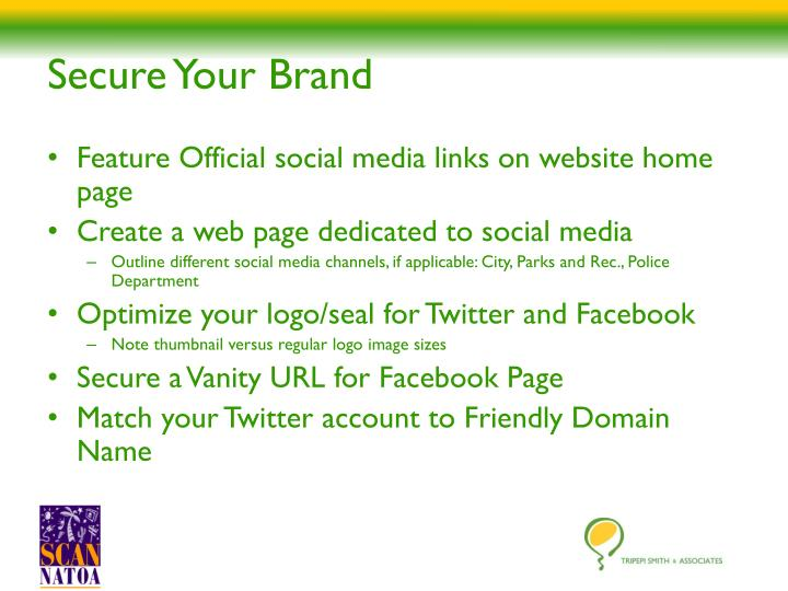 Secure Your Brand