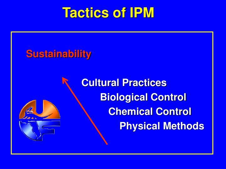 Tactics of IPM