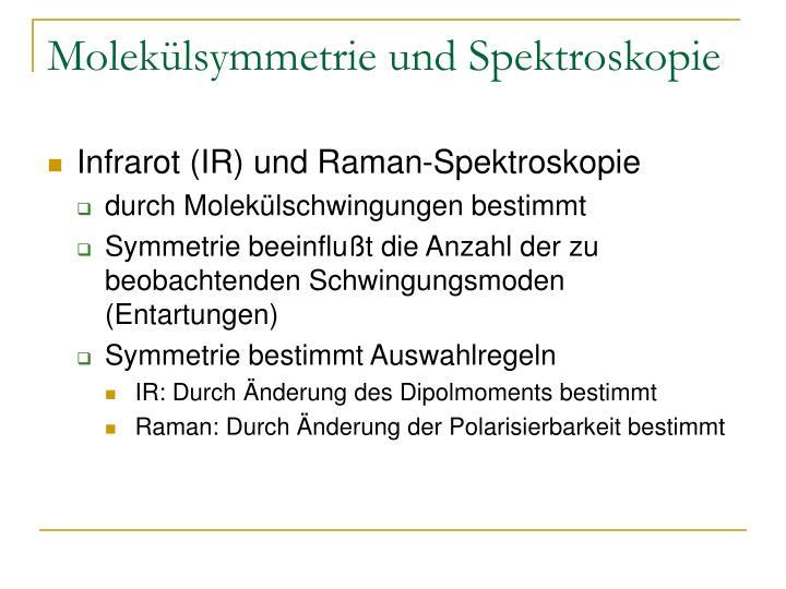 Molekülsymmetrie und Spektroskopie