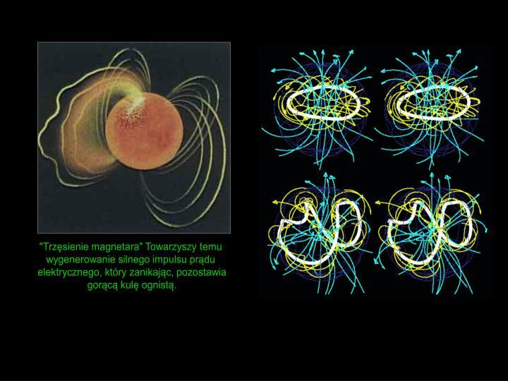"""""""Trzęsienie magnetara"""" Towarzyszy temu"""