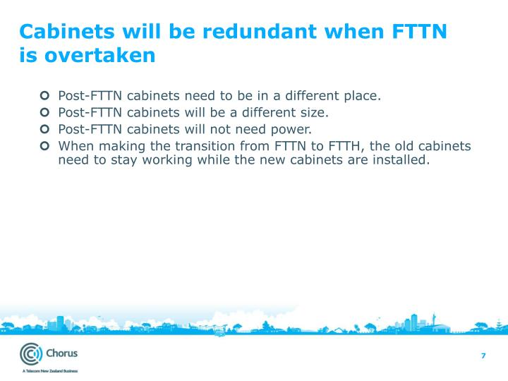 Cabinets will be redundant when FTTN is overtaken