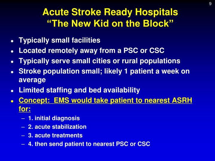 Acute Stroke Ready Hospitals