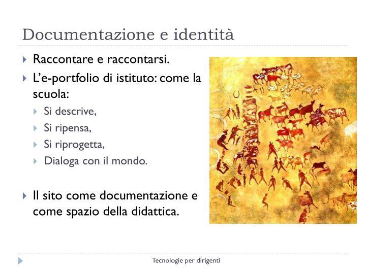 Documentazione e identità