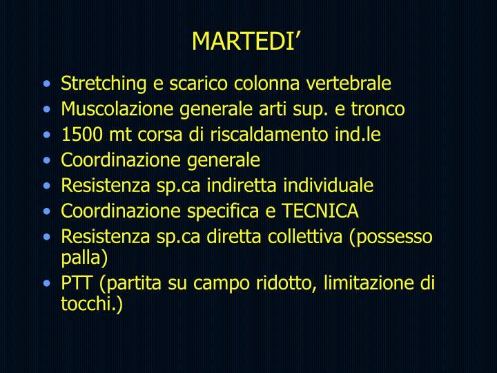 MARTEDI'