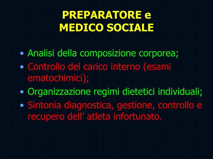 PREPARATORE e