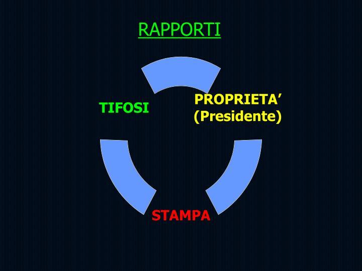 RAPPORTI