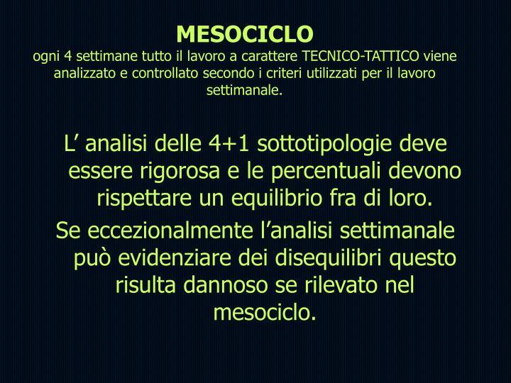 MESOCICLO