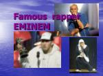 famous rapper eminem