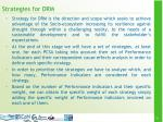 strategies for drm