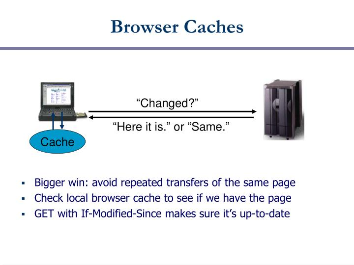 Browser Caches