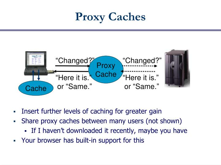 Proxy Caches