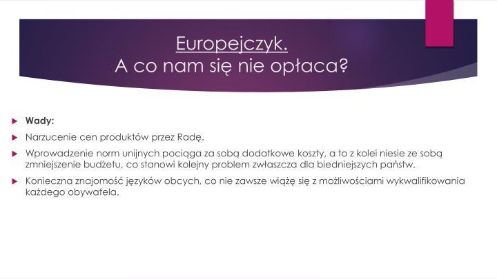 Europejczyk