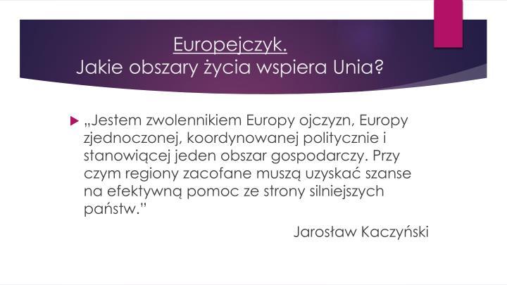 Europejczyk.