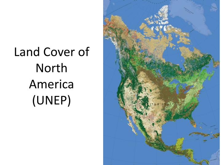 Land Cover of North America (UNEP)