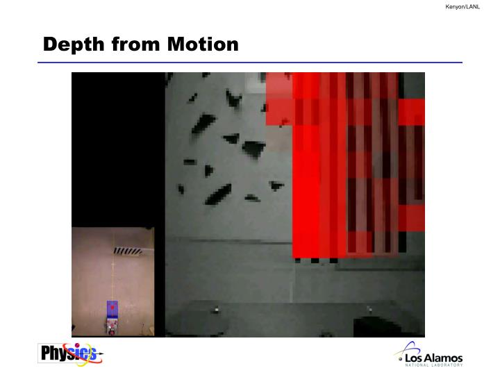 Depth from Motion
