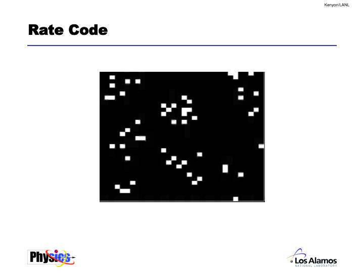 Rate Code