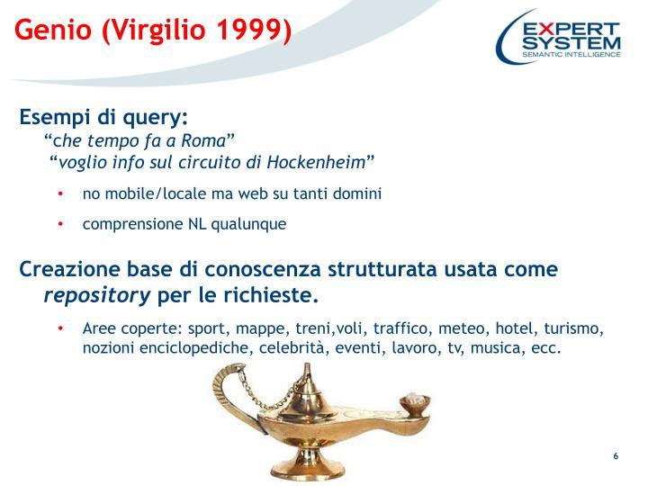 Genio (Virgilio 1999)