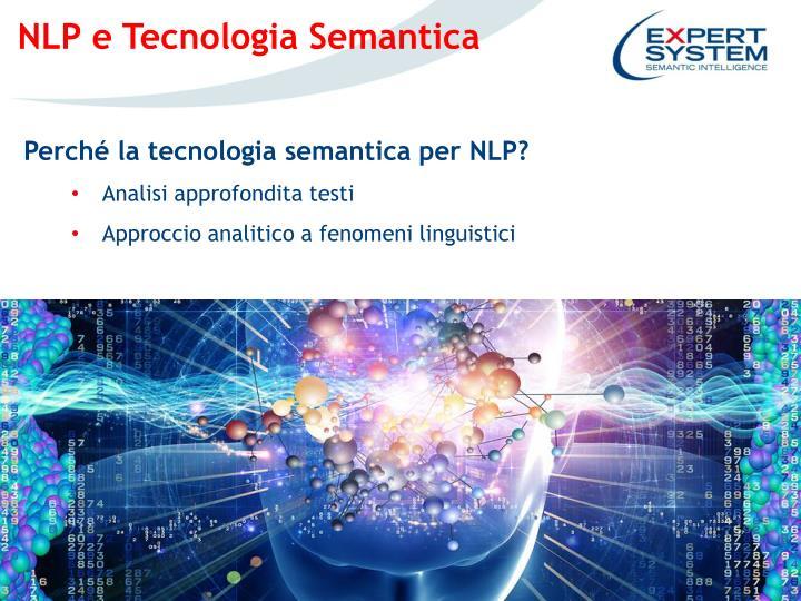 NLP e Tecnologia Semantica
