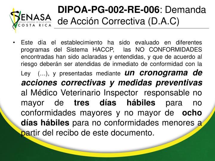 DIPOA-PG-002-RE-006