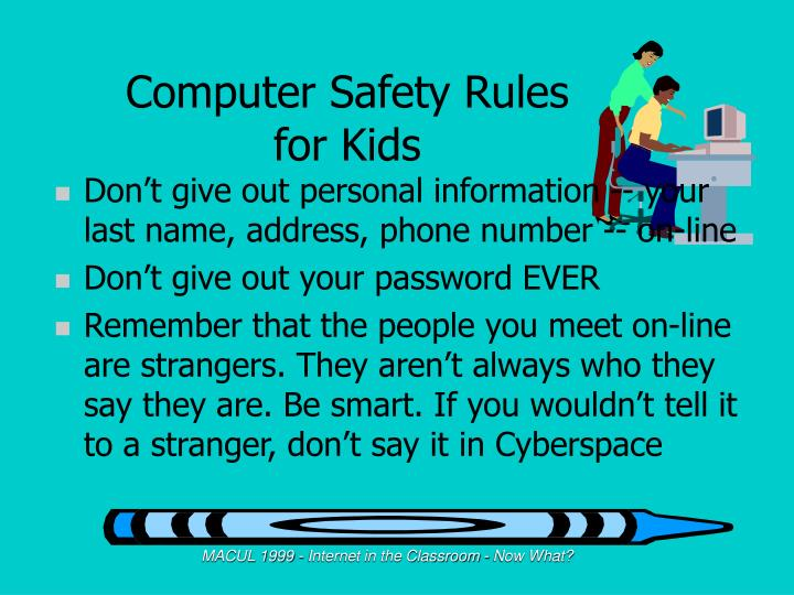 Computer Safety Rules for Kids