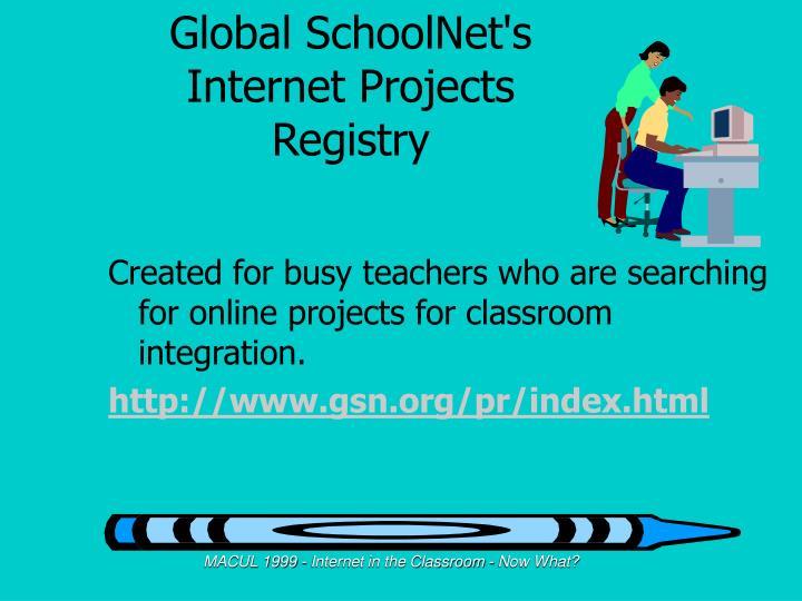 Global SchoolNet's