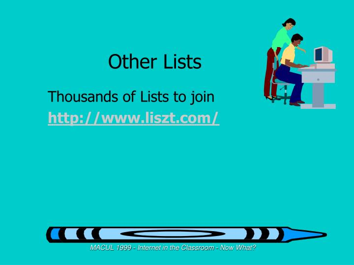 Other Lists