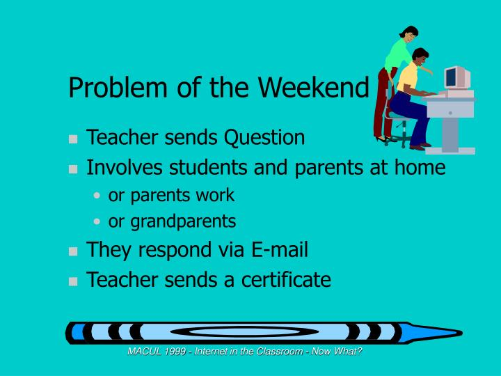 Problem of the Weekend