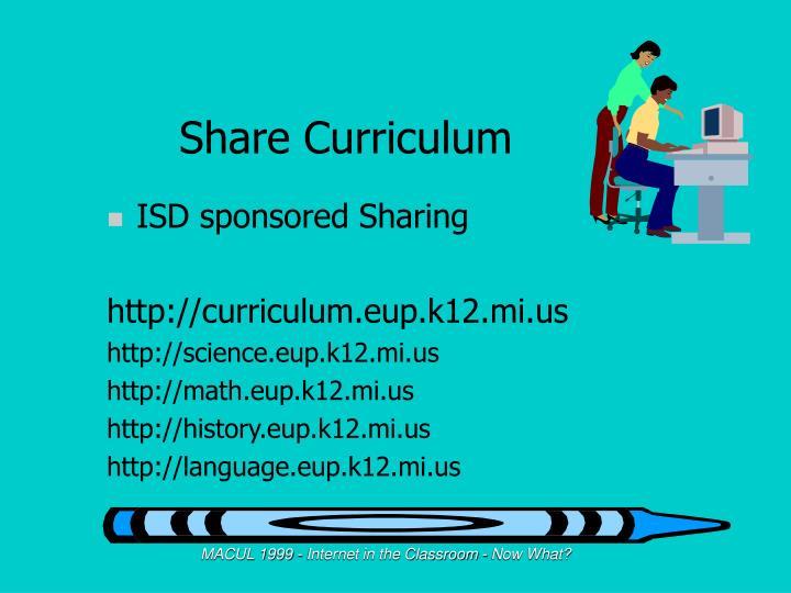 Share Curriculum