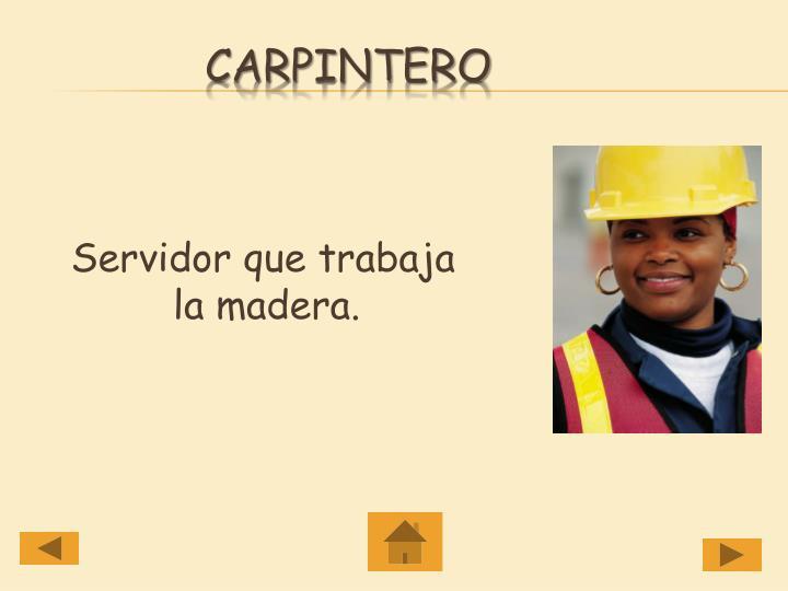 Carpintero