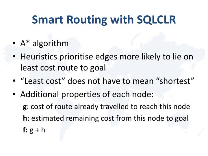 Smart Routing with SQLCLR