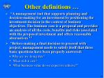 other definitions1