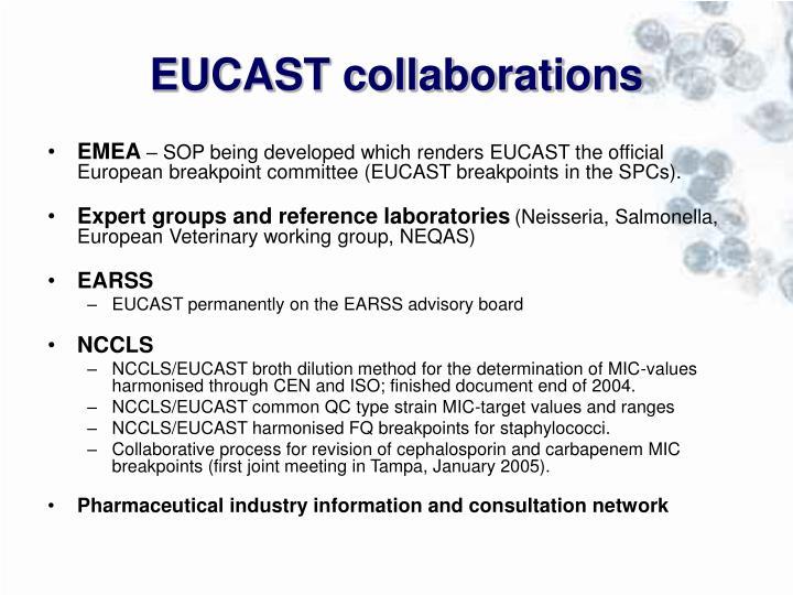 EUCAST collaborations