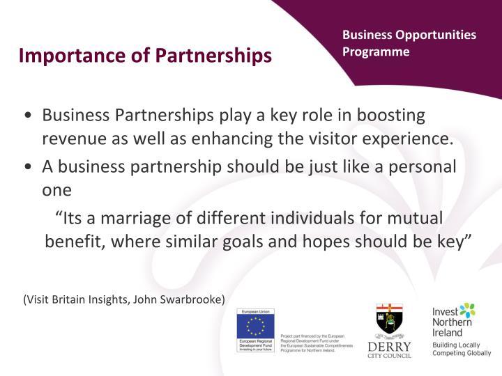 Business Opportunities Programme